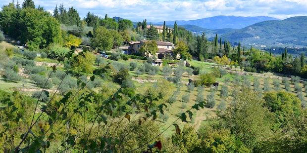 Rental Apartment near Florence at Poderino Farmhou