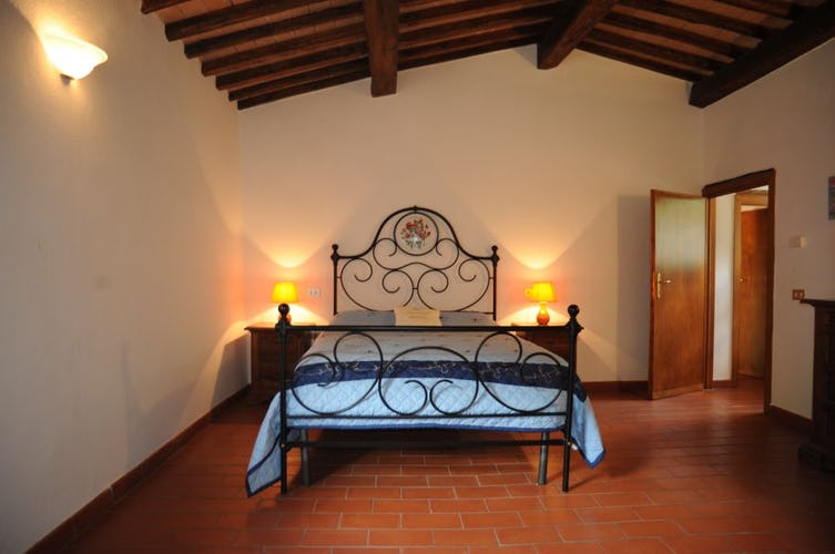 Bedroom at Barbicaio Saturnana Agriturismo