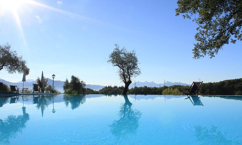 Agriturismo Ca' del Bosco - the blue Tuscan sky