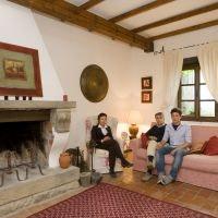 Mirta & Antonio, owners of Agriturismo ca' del Bosco