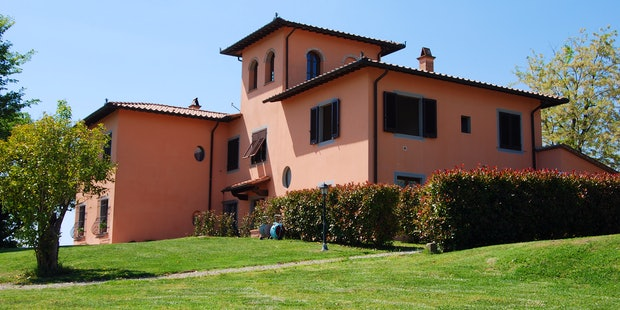 Family run holiday apartments near Florence Corte in Poggio