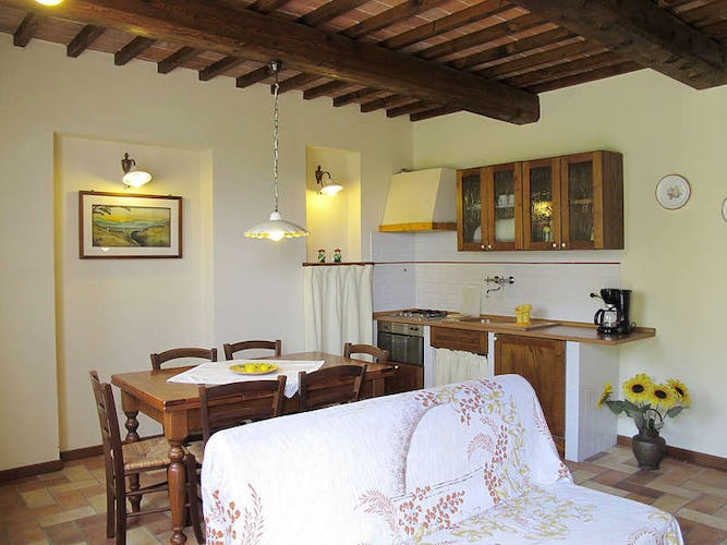 Large comforatble apartments with 1 or 2 bedrooms at Corte in Poggio