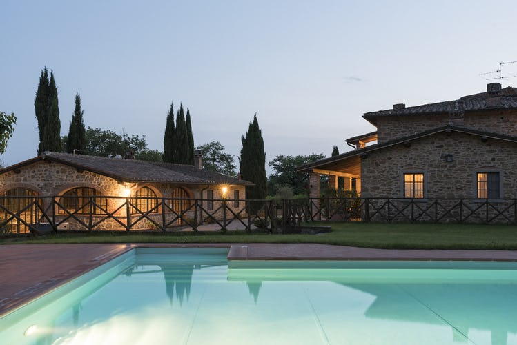 Tuscany Farmhouse with Pool Incrociata