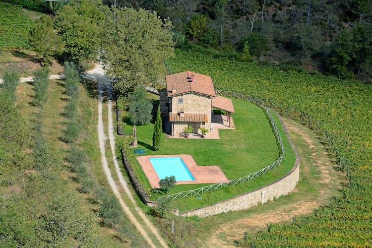 Tuscany Typical Farmhouse Incrociata
