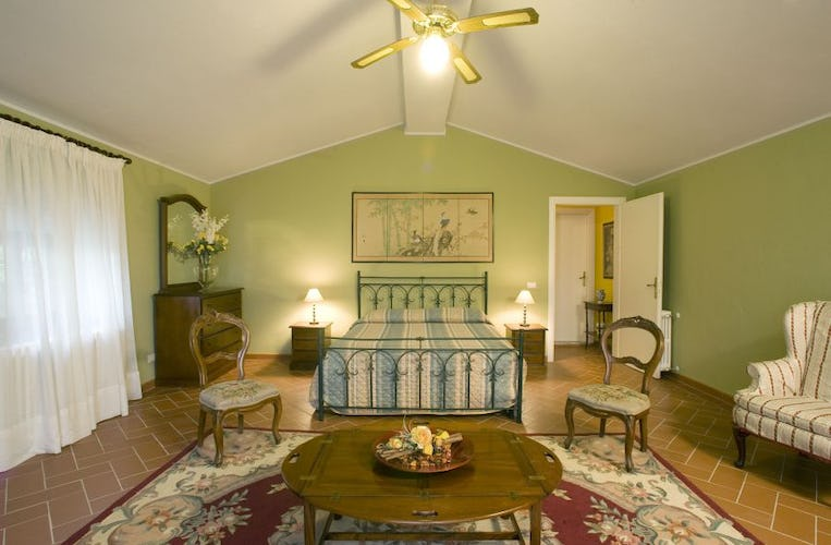 Bedrooms are spacious, luminous and some with fans and AC