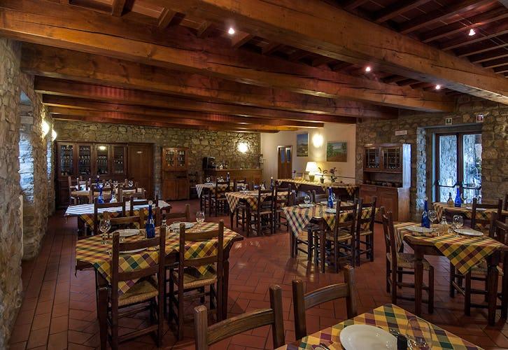 Agriturismo La Collina Delle Stelle - il ristorante in loco, dove poter assaporare deliziosi piatti della tradizione