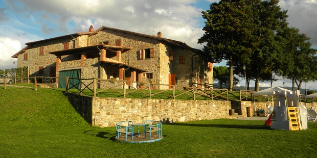 Arezzo Agriturismo La Collina delle Stelle facciat