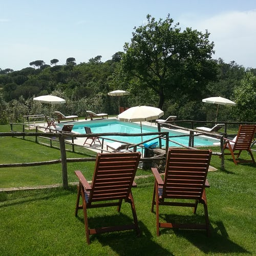Agriturismo La Tinaia - Pool with panoramic position