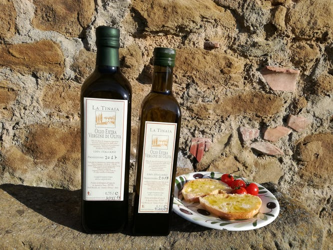 Sample the estate's extra virgin olive oil