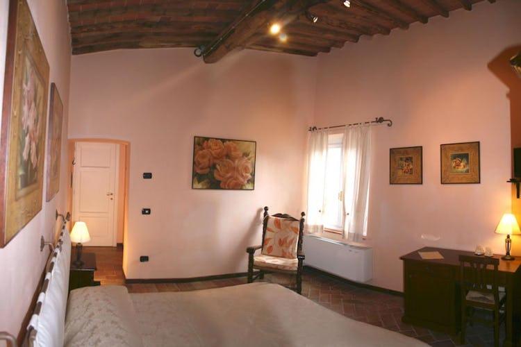 Le camere in stile tipico toscano