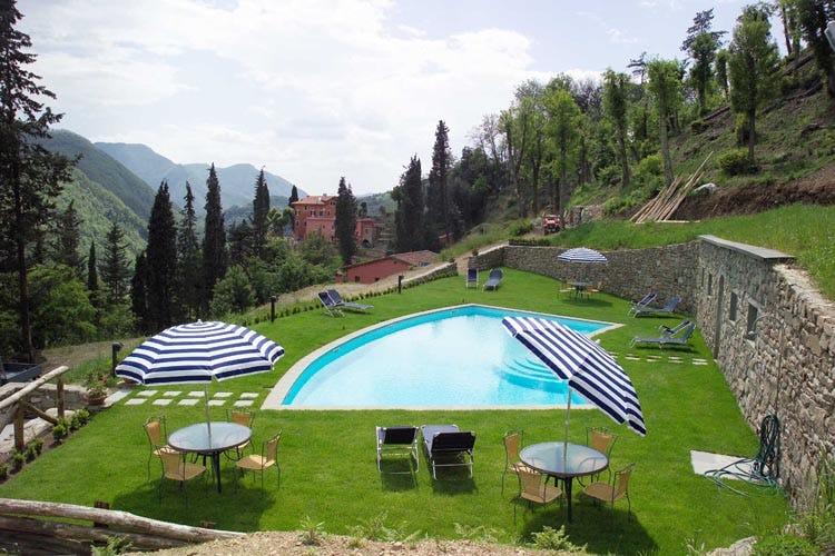 The wonderful panoramic pool