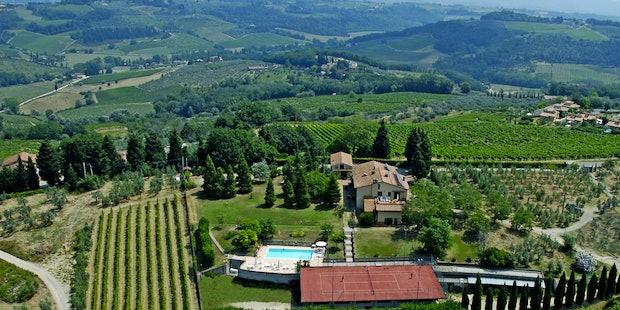 Agriturismo Le Pianore a Montespertoli, tra Firenze e il Chianti
