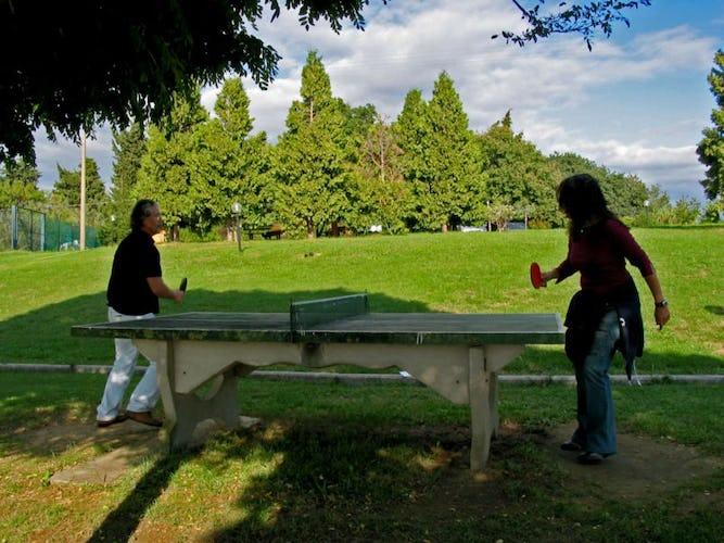Spaziosi giardini dove dedicarsi ad attività, bbq e pranzi all'aperto