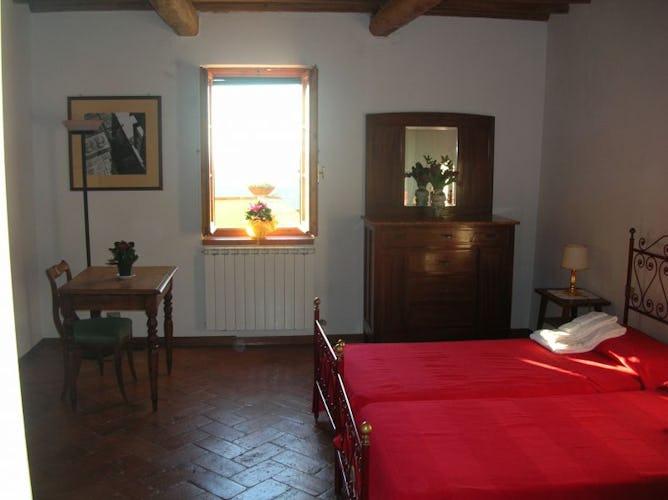 Tra i comfort moderni, aria condizionata in molte delle camere