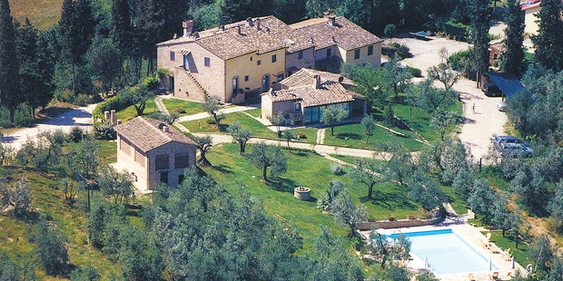 The suggestive location of agriturismo Montalbino