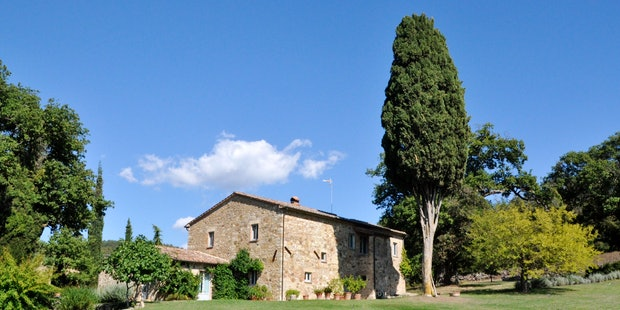 Independent private rental villas in southern Tuscany at Montefreddo