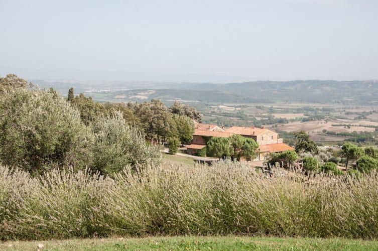 Agriturismo Montefreddo con veduta panoramica