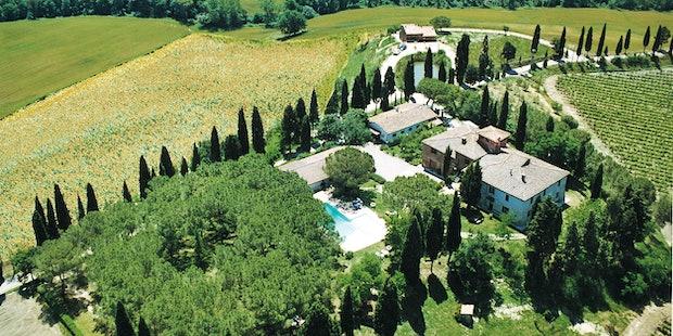 Pieve Sprenna Farmhouse Tuscany