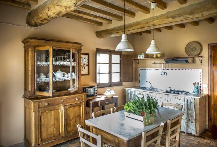 Tuscany Farmhouse Apartment Pieve Sprenna