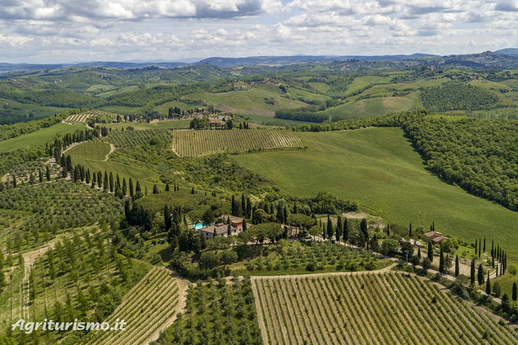 Pieve Sprenna Farmhouse in the Tuscany Countryside