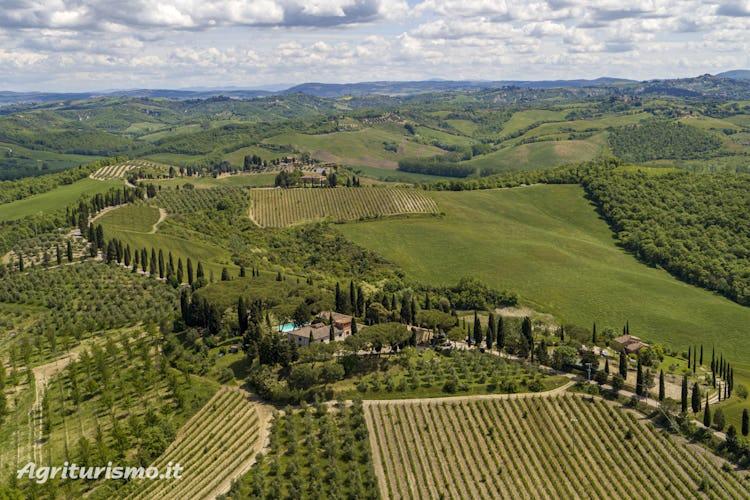 Agriturismo Pieve Sprenna tra Siena e la Valdorcia