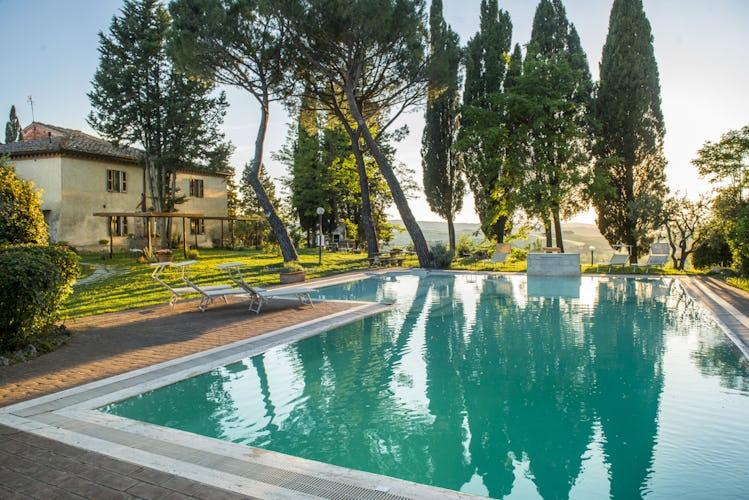 Pieve Sprenna Tuscany Farmhouse with Pool