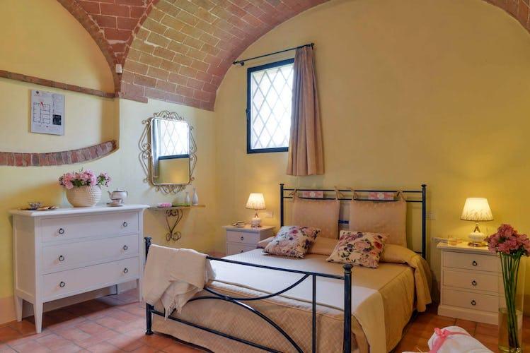 Agriturismo San Fabiano - Camera da letto de Le Tortore