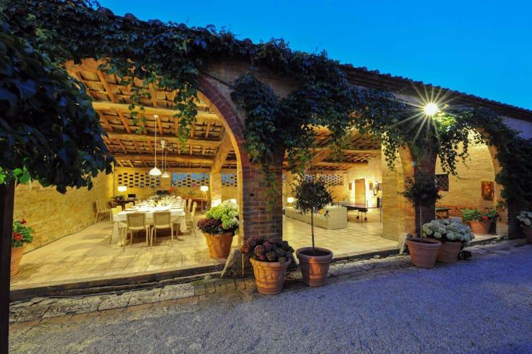 Villa San Fabiano a sud di Siena