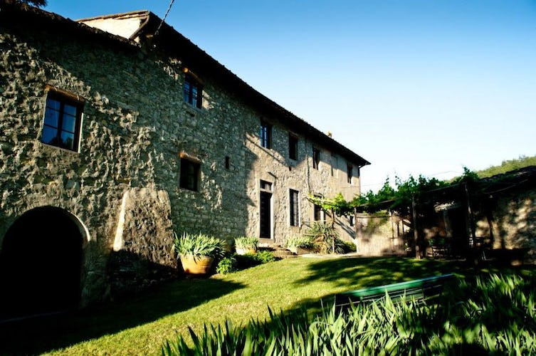 Typical Tuscan style villa rentals at Tenuta Bossi