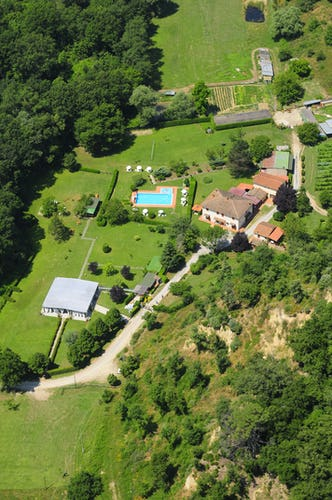 Agriturismo Valleverde: Plan your vacation in the lush green gardens of Tuscany