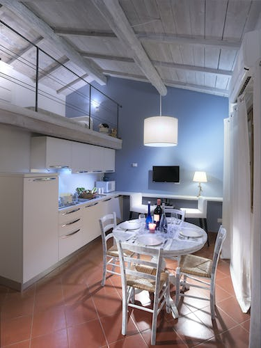 Agriturismo Valleverde: Loft apartment with dining area