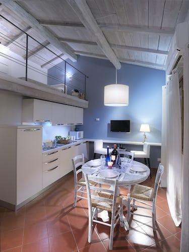 Agriturismo Valleverde: Appartamento con mansarda e zona pranzo
