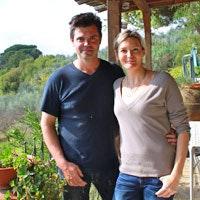 Fabio & Ilenia, the owners of Vernianello