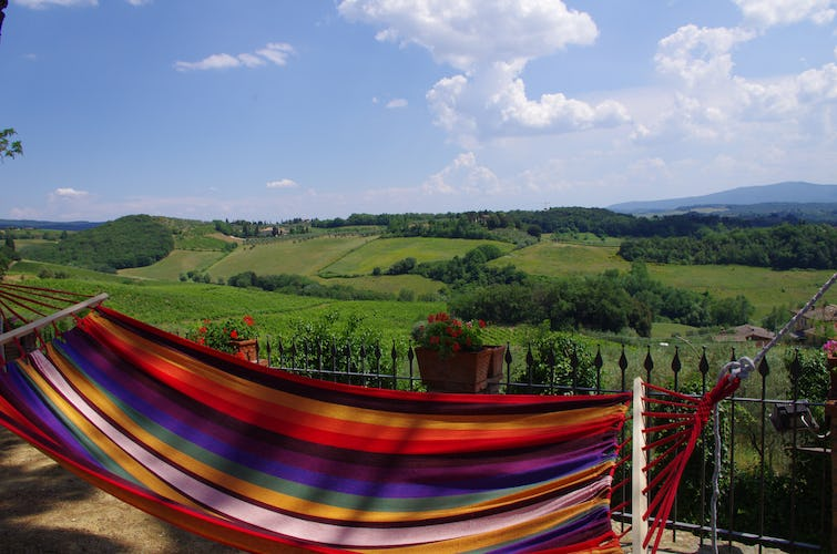 Relax and a very special panoramic view
