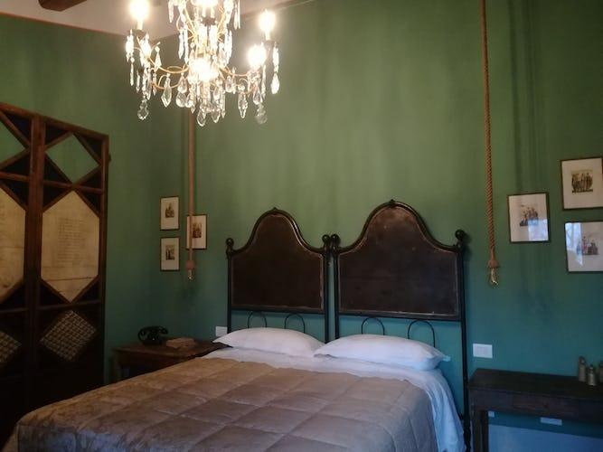 Agriturismo Vicolabate: l'arredo in stile rustico ricorda le antiche case coloniche toscane