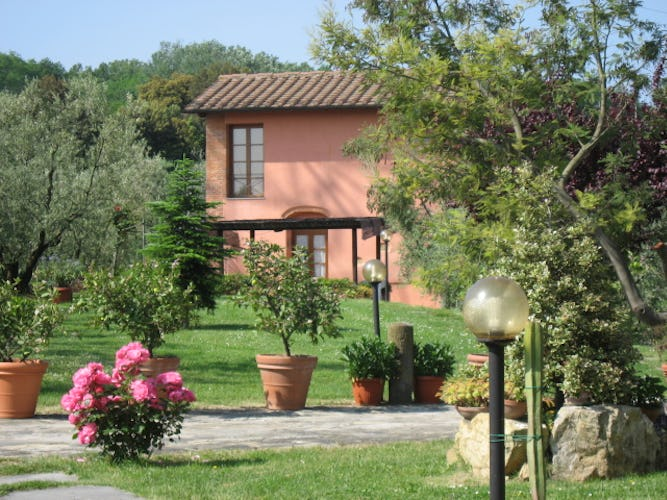 Tuscany Apartment for Rent at Agriturismo Villani
