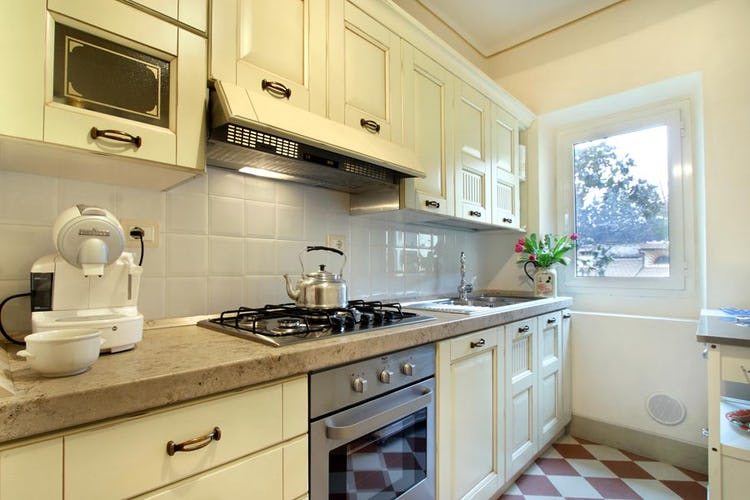The Kitchen at Apartment Guelfa Florence Center