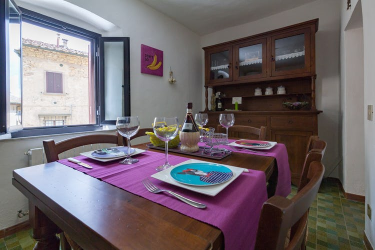 ART REBUS Tower historic home in Chianti Classic: eat in kitchen for up to 6 persons
