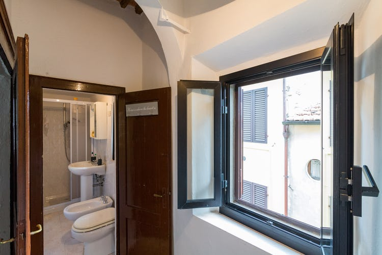 ART REBUS Tower historic apartment rental: new soundproof windows and screens