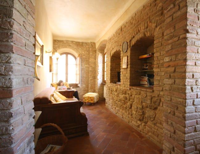 Living area in apartment Attico Duomo