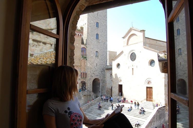 Attico Duomo Apartment with View of Duomo in San Gimignano