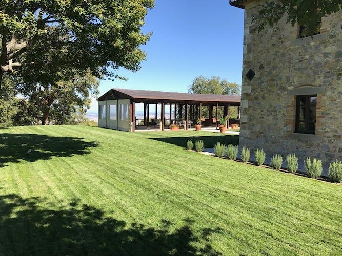BelSentiero Estate & Country House: per l'organizzazione di eventi, viene messa a disposizione l'intera villa