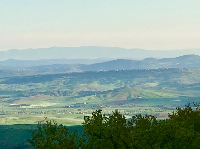 BelSentiero Estate & Country House: panoramic views of the Val d'Orcia countryside