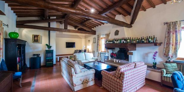 Belvedere di Viticcio vicino Greve in Chianti, appartamento di lusso