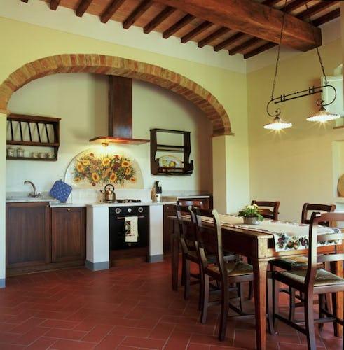 Borgo della Meliana: Appartamenti per vacanze Gambassi Terme, particolare della cucina
