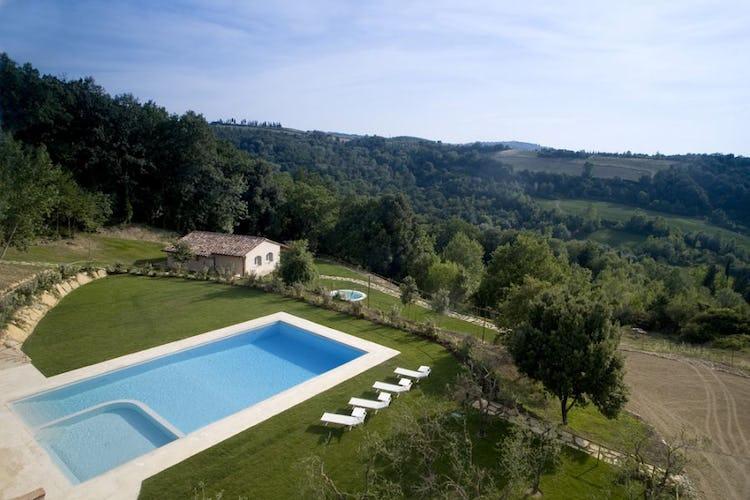 Panoramic pool, tuscany farmhouse Borgo della Meliana
