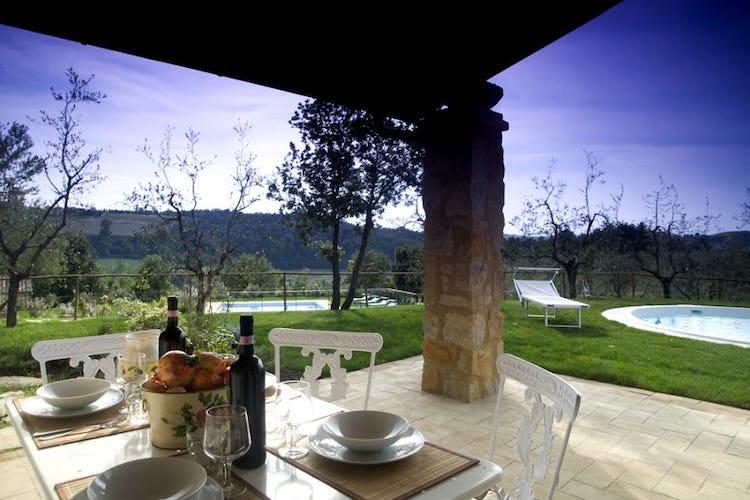 Colazione all'aperto a Borgo della Meliana