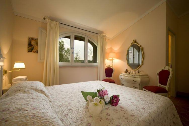 Borgo della Meliana: Holiday apartments in Tuscany: bedroom of Borgo della Meliana