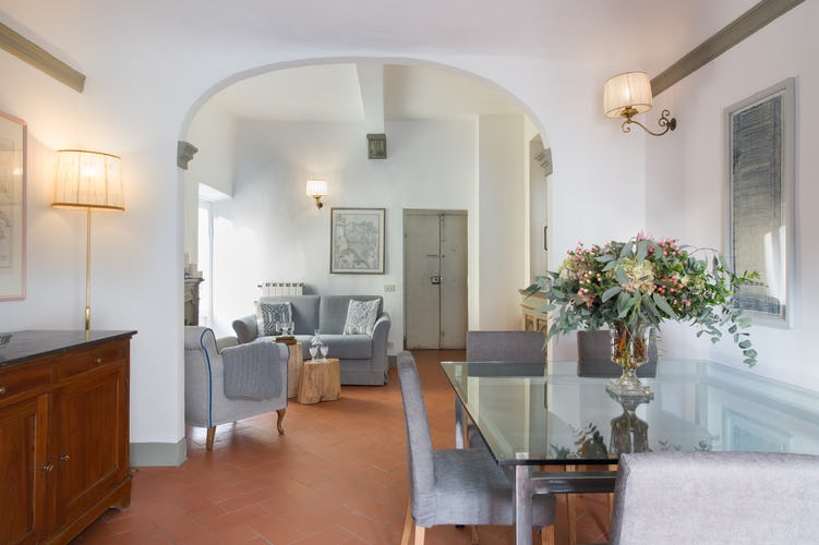 Borgo de Greci Vacation Apartments in Florence: One bedroom apartment with added sofa bed