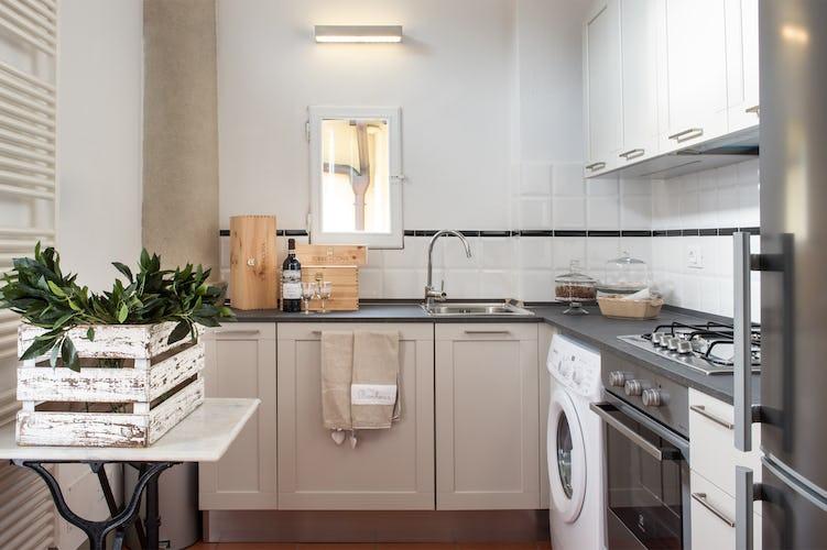 Borgo de Greci appartamenti per vacanze a Firenze: cucina completamente attrezzata